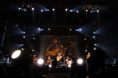 Amaral performs at Palau Sant Jordi Royalty Free Stock Image