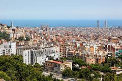 Barcelona, Spain, Europe Royalty Free Stock Photography