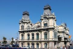 BARCELONA, SPAIN/EUROPE - 1 DE JUNIO: Vista parcial del Custo viejo Imagenes de archivo