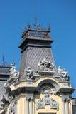 BARCELONA, SPAIN/EUROPE - 1 JUNI: Gedeeltelijke mening van oude Custo stock foto's