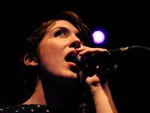 Anni B. Sweet performs at Apolo Royalty Free Stock Photos