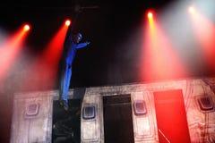 Cirque's show Eoloh Stock Photography