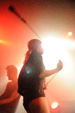The Sounds band performs at Apolo Royalty Free Stock Photography
