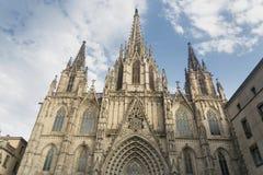 Barcelona & x28; Spain& x29; gothic katedra Fotografia Royalty Free