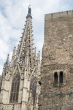 Barcelona & x28; Spain& x29; gothic katedra Zdjęcia Stock