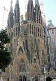 Barcelona. Spain grand church royalty free stock image