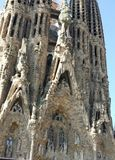 Barcelona. Spain grand church stock photo