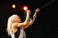 The Sounds performs at Apolo Royalty Free Stock Photography