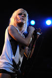 The Sounds performs at Apolo Royalty Free Stock Photo