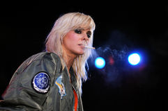 The Sounds performs at Apolo Stock Images
