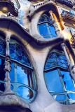 One of the creations of the architect Gaudi Casa Batllo house during the construction of this house, the architect drew inspiratio. BARCELONA, SPAIN - 11 JANUARY Stock Images