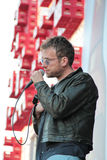 BARCELONA, SPAIN - JULY 11, 2014: Damon Albarn, singer from Blur, performing live Royalty Free Stock Photo