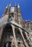 BARCELONA, SPAIN - JULY 8: La Sagrada Familia - the Cathedral de Royalty Free Stock Photo