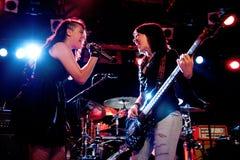 Everlose band performs at Razzmatazz Stock Photo