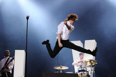 The Hives band Royalty Free Stock Photography