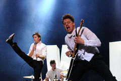 The Hives band Royalty Free Stock Image