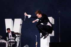 The Hives band Stock Image