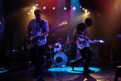 The Pains of Being Pure at Heart band performs at Apolo Stock Image