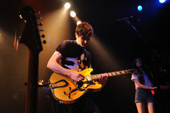 The Pains of Being Pure at Heart band performs at Apolo Royalty Free Stock Images