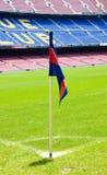 BARCELONA, SPAIN-JUNE 12: Acampamento Nou do estádio, barra de FC Foto de Stock