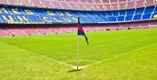 BARCELONA, SPAIN-JUNE 12: Acampamento Nou do estádio, barra de FC Imagem de Stock Royalty Free