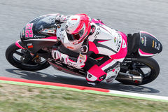 Barcelona, Spain - June 13,14,15, 2014: Monster Energy Grand Pri Stock Photography