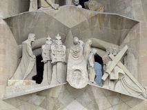 Barcelona, Spain. La Sagrada Familia Royalty Free Stock Image