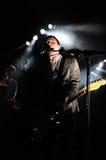 White Lies band performs at Apolo Royalty Free Stock Photo