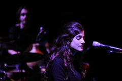 Maria Rodes & Refree band Stock Photo