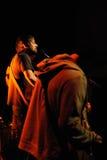 Pau Vallvé performs at Centre Artesa Tradicionarius Royalty Free Stock Photos
