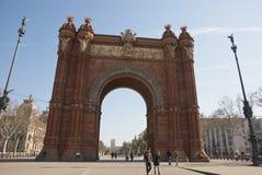 Arch de Triumf, Barcelona Stock Images