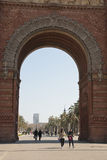 Arch de Triumf, Barcelona Royalty Free Stock Photos