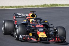 FORMULA ONE TEST DAYS 2018 - MAX VERSTAPPEN Stock Image