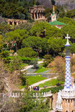 Park Guell in Barcelona Royalty Free Stock Images