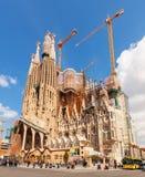 Barcelona, Spain. Basilica and Expiatory Church of the Holy Fami Royalty Free Stock Photo