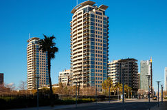 Barcelona,  Sant Marti district Stock Photos