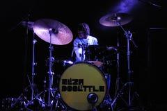 Eliza Doolittle band performs at Barcelona Stock Photos