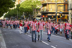 BARCELONA, SPAIN - may 30 2015: Final match of cup of spain 2015 Stock Photos