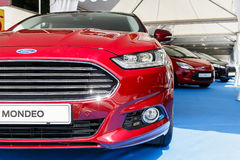 BARCELONA, SPAIN - MAY 2015: Ford Mondeo Fusion Royalty Free Stock Images