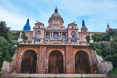 Museu Nacional d`Art de Catalunya royalty free stock images