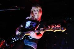 Jenn Wasner, singer of Wye Oak Royalty Free Stock Images