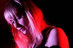 Jenn Wasner, singer of Wye Oak Royalty Free Stock Photography