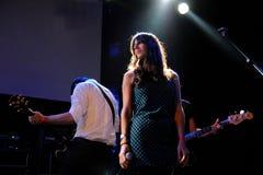 Ellos band performs at Apolo Stock Photo