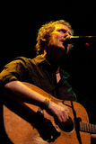 Glen Hansard, singer of The Swell Season and lead actor of the film Once. BARCELONA, SPAIN - OCT 6: Glen Hansard, singer of The Swell Season and lead actor of Royalty Free Stock Photo