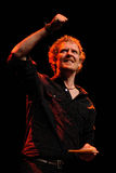Glen Hansard, singer of The Swell Season and lead actor of the film Once. BARCELONA, SPAIN - OCT 6: Glen Hansard, singer of The Swell Season and lead actor of Royalty Free Stock Image