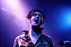 Patrick Wolf performs at Barcelona Stock Photos