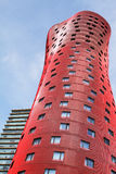 BARCELONA, SPAIN – OCTOBER 20: Hotel Porta Fira on October 20, 2013 in Barcelona, Spain. The hotel is a 28-story building and in Stock Images