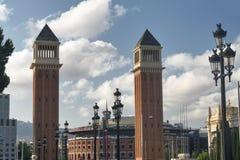 Barcelona Spain: Plaza de Espana Stock Photo