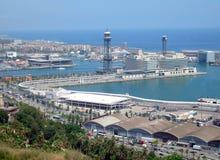 Barcelona Spain portuário Fotografia de Stock