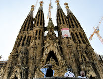 Barcelona Spain Sagrada Família stock image